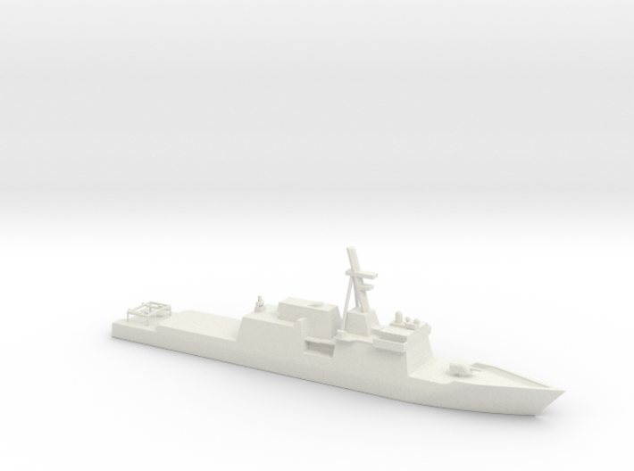 1/700 Scale National Security Cutter 3d printed