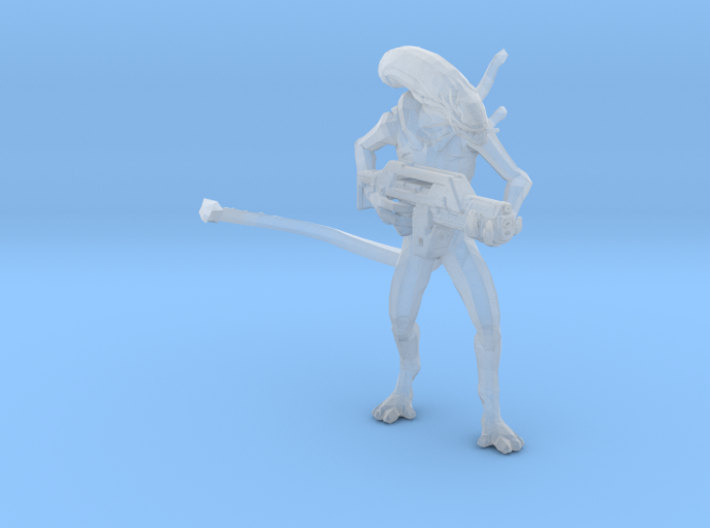 Alien Jeri Synthetic 1/60 Miniature for games rpg 3d printed