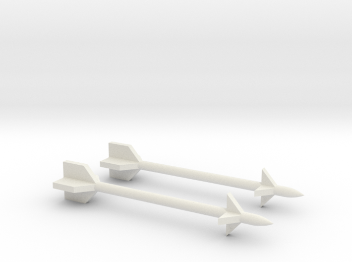 1/48 Scale Derby Missile 3d printed