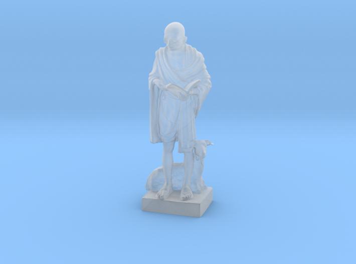 Gandhi by Vatteroni 3d printed