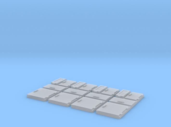1/96 scale Ship Panels 3d printed