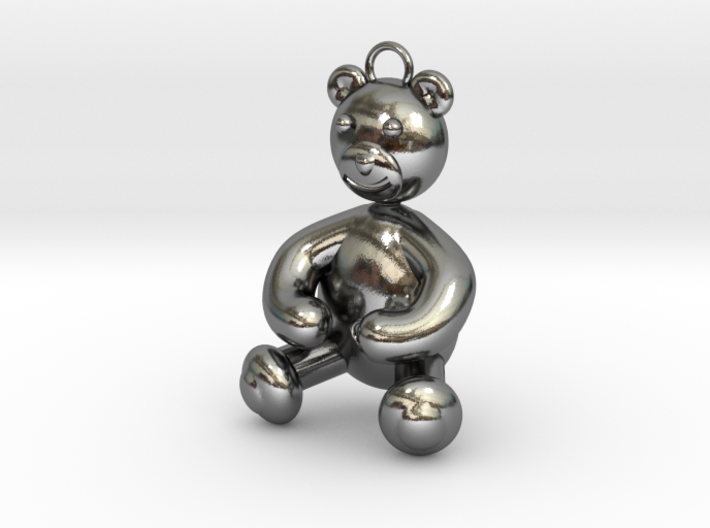 Bear Pendant by JiangYuan  3d printed