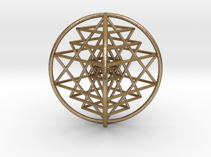 3D Sri Yantra Optimal Large 3d printed