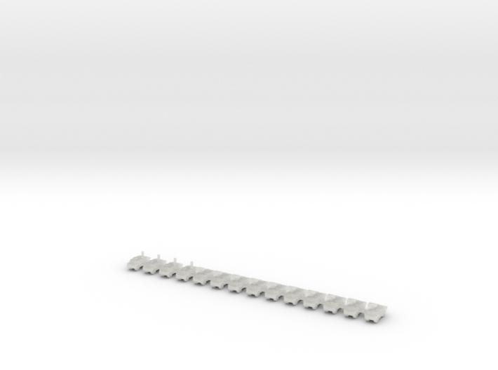 1/700 Fennek LARV (x14) 3d printed