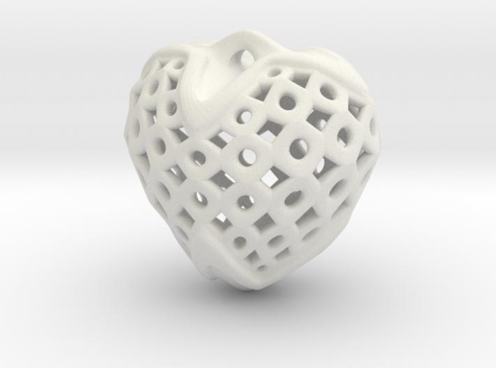 Circles & Squares Pendant 3d printed