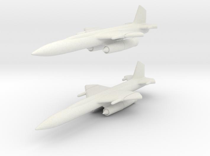 Boeing CIM-10 (IM-99) Bomarc 1/285 6mm (x2) 3d printed