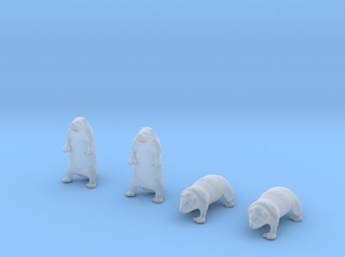 Groundhog Set 3d printed