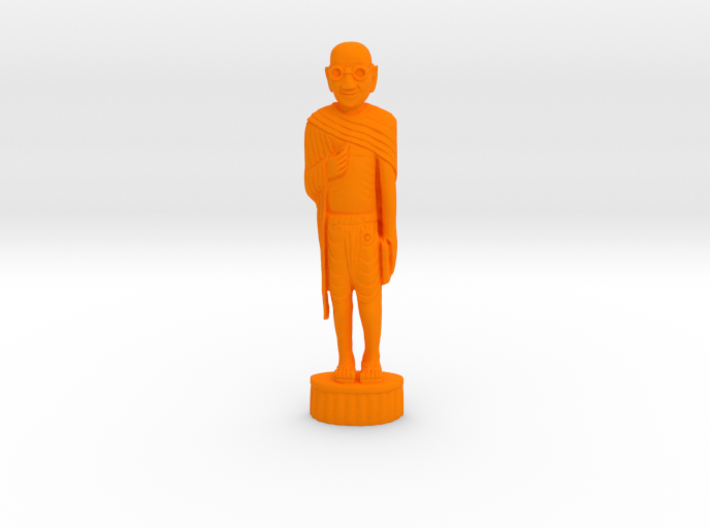 Gandhi Wood 3d printed