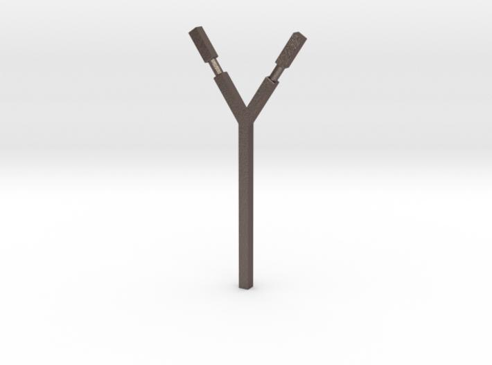 Simple Slingshot base 3d printed