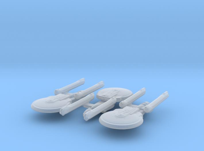 Excelsior Class (NCC-1701-B variant) 1/15000 x3 3d printed