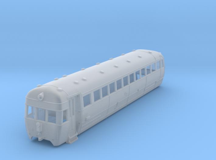 NZR Wairarapa Railcar 1:120 3d printed