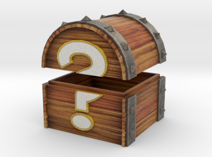 Mystery Chest 3d printed