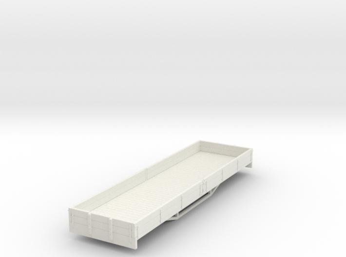 OO9 2 plank bogie dropside wagon 3d printed