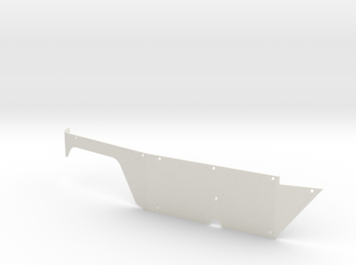 Right Body Panel (Type T) for Micro Shark 3d printed