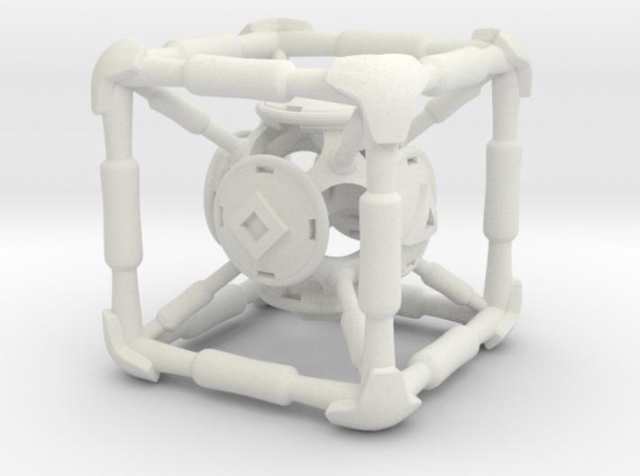 D6 Polywell Hypercube 3d printed
