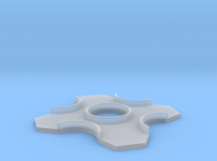 S-II Heat Shield 1:96 3d printed