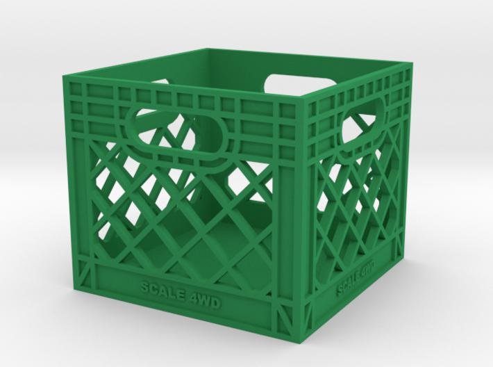 Milk Crate 1:12 Scale 3d printed