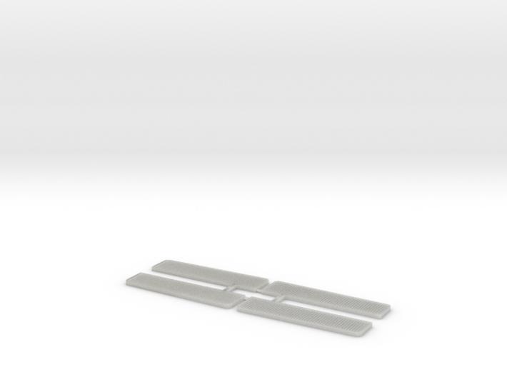 H0-Tritte für Lima- und Jouef Eilzugwagen 3d printed