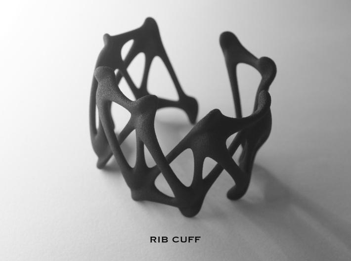 RIB CUFF 3d printed