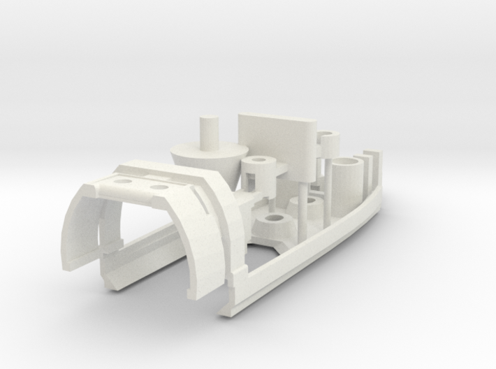 Scalextric BT26 to Policar conversion chassis 3d printed
