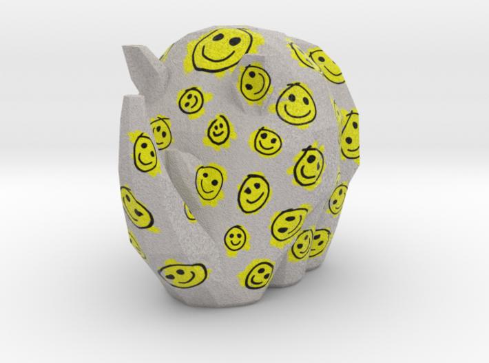 Cammo Rhino - Smileys 3d printed
