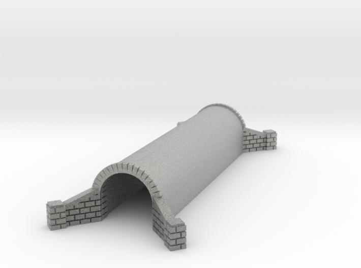 N Scale Brick Walkway Tunnel Double Track 1:160 3d printed