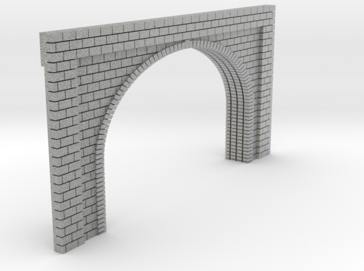 N Scale Tunnel Entrance Double Track 1:160 3d printed