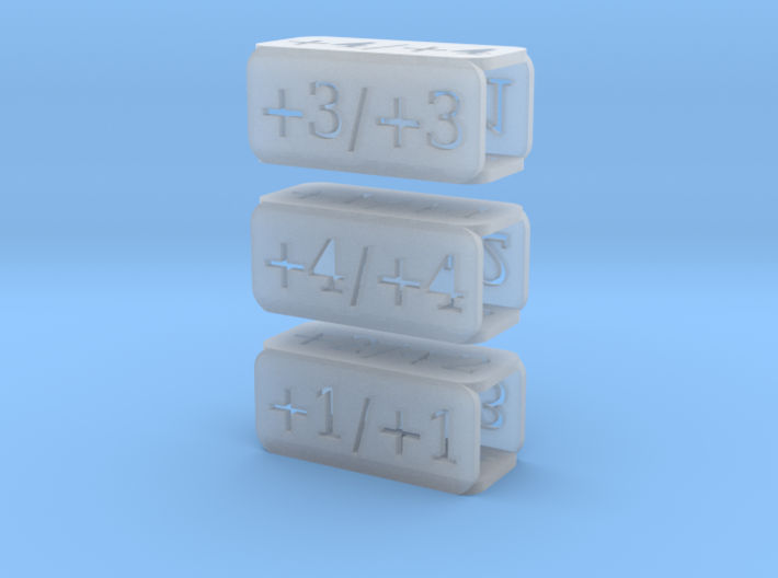 Counters for Magic MTG x3 3d printed