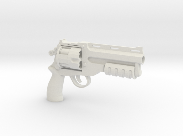 1:6 Scale BFG Revolver - Tactical Version 3d printed