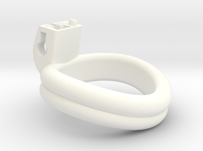 Cherry Keeper Ring - 42mm Double +4° 3d printed