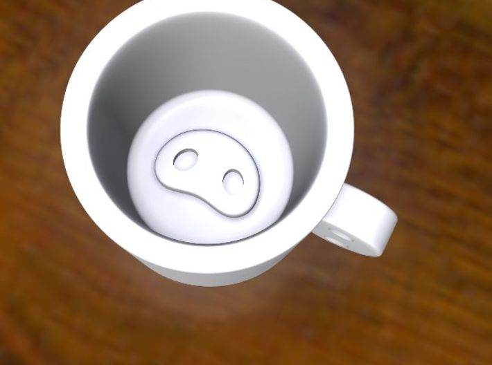 PigNoseMug 3d printed