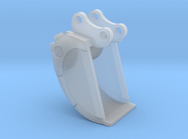 1/87th Excavator Roller Compaction Bucket 3d printed
