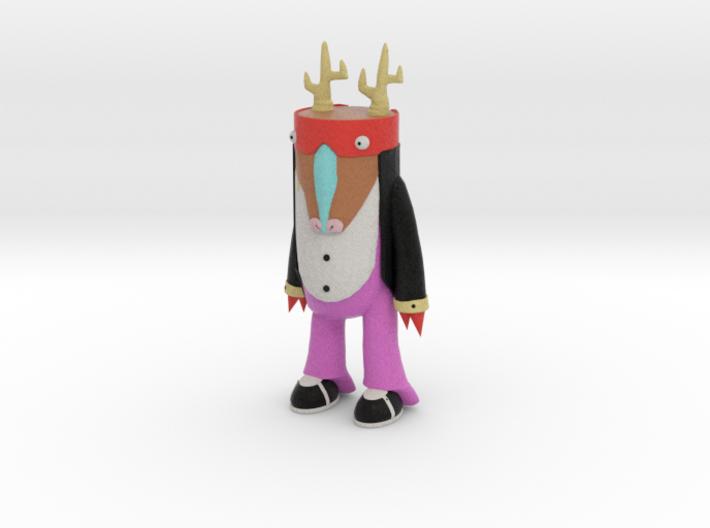 Magic Man 3d printed