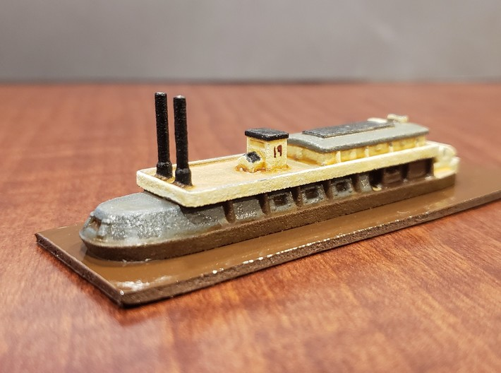 1/600 USS Saint Clair 3d printed Painted by David Wallace Kent