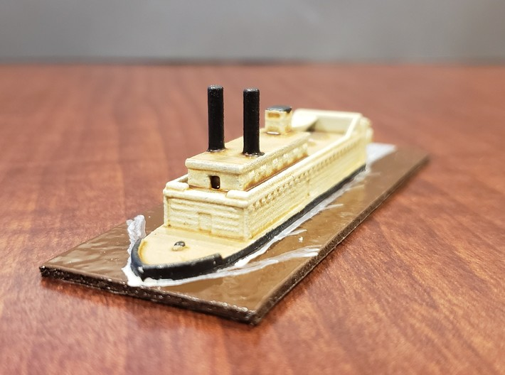 1/600 USS Lioness 3d printed Painted by David Wallace Kent