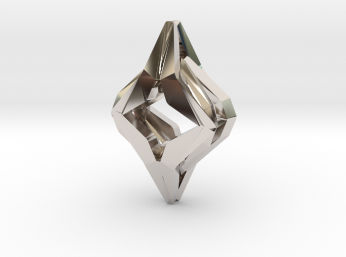 HEART TO HEART Symbionic, Pendant 3d printed