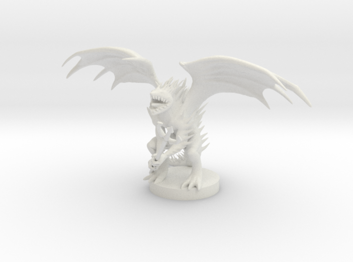 Spined Devil 3d printed