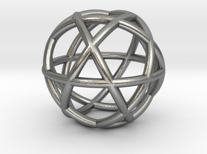 Penta Sphere bead 3d printed