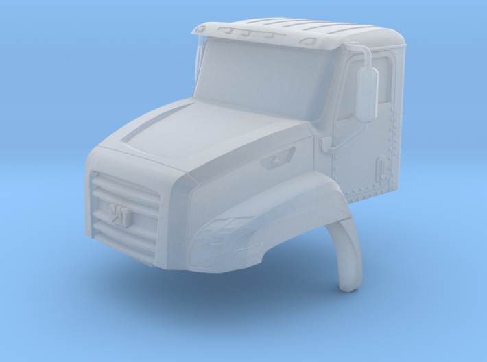 CAT CT660 Cab Closed Windows 1-87 HO Scale 3d printed