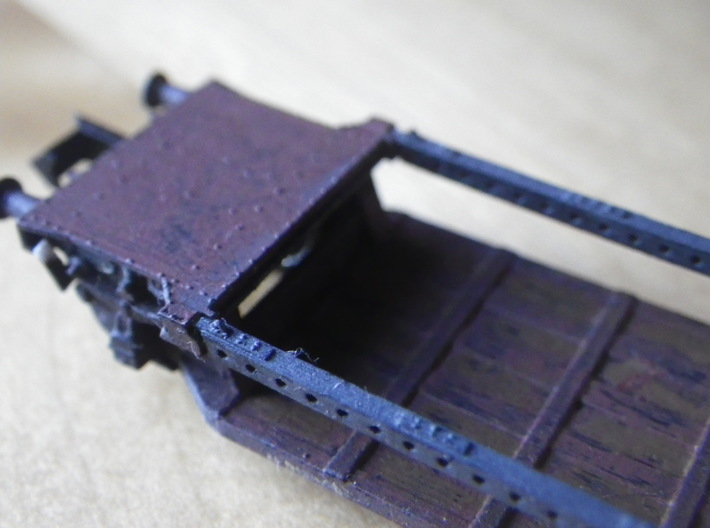 GWR G27 Loriot W 3d printed The girders are a separate model