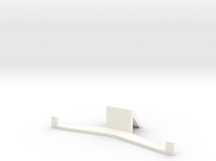 HTC ONE M8 stand (landscape) 3d printed
