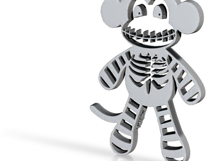 Macabre Skeleton Sock Monkey 3d printed