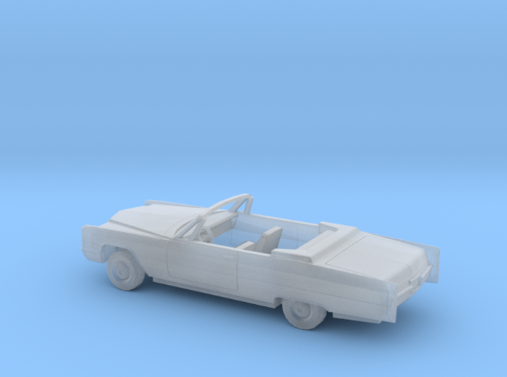 1/160 1966 Cadillac DeVille Convertible Kit 3d printed