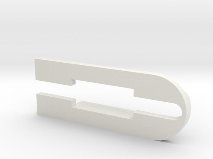 Tesla model 3 USB extension adapter clip 3d printed