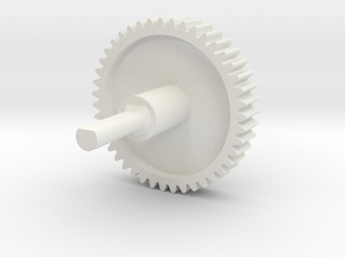 Nespresso capsule dispenser replacement gear 3d printed