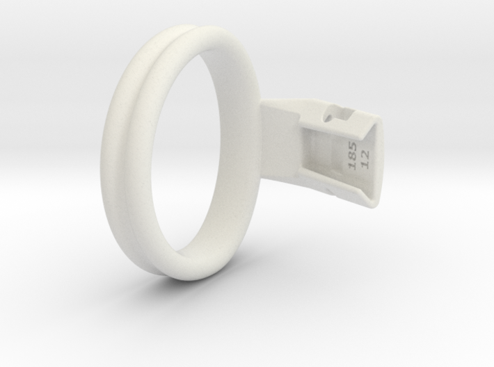 Q4e double ring L 58.9mm 3d printed