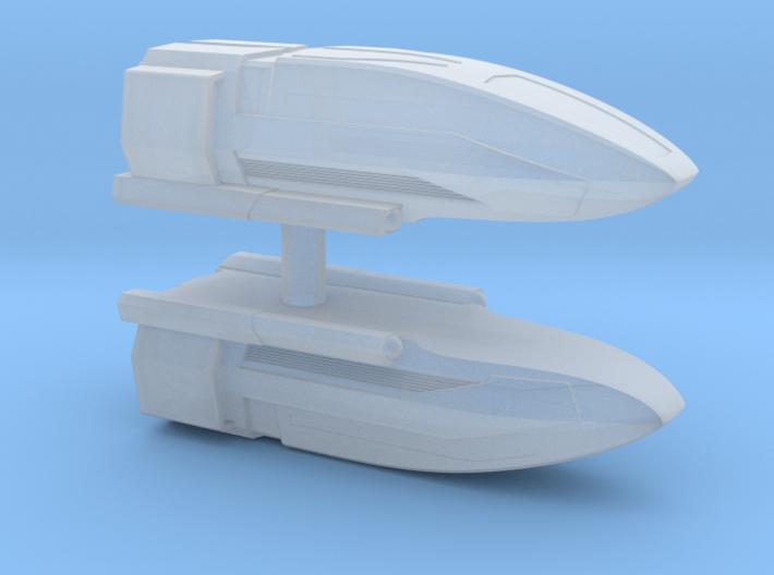 1/350 Class C Shuttle 2x 3d printed