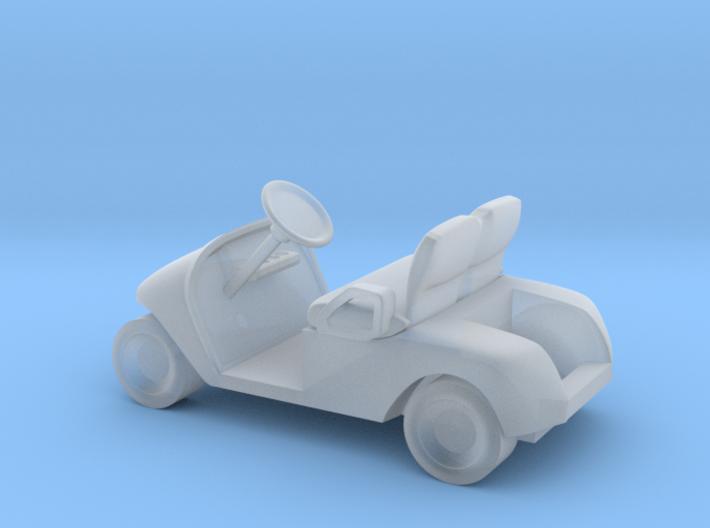 HO Scale Modern Golf Cart 3d printed