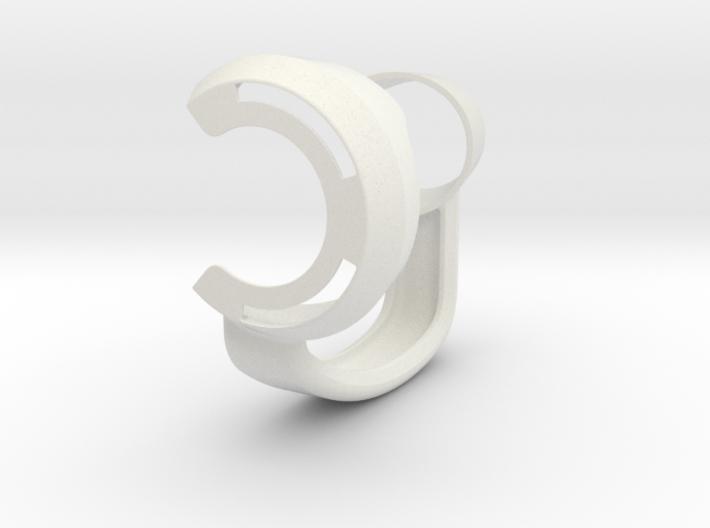 The Peak Handle (Lefty) 3d printed
