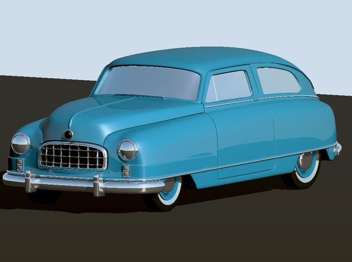 1949 Nash Ambassador 2 Door 3d printed Render